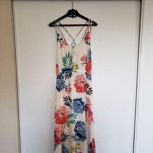 RIPCURL Tropical Maxi Dress Size Large Petite